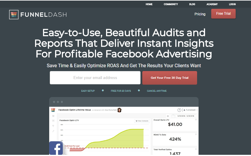 Funnel Dash best sales funnel software