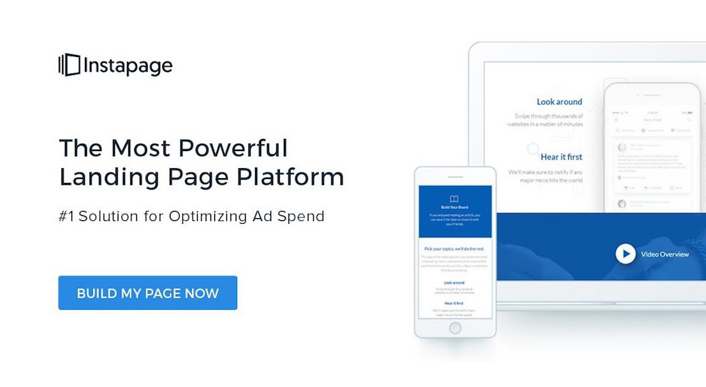 Instapage-best-sales-funnel-software