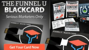 Funnel-U Black Card