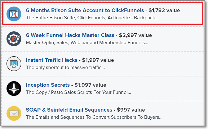Funnel Hack Package