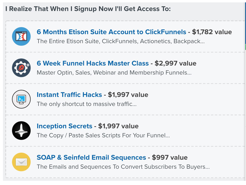 Funnel Hacks course