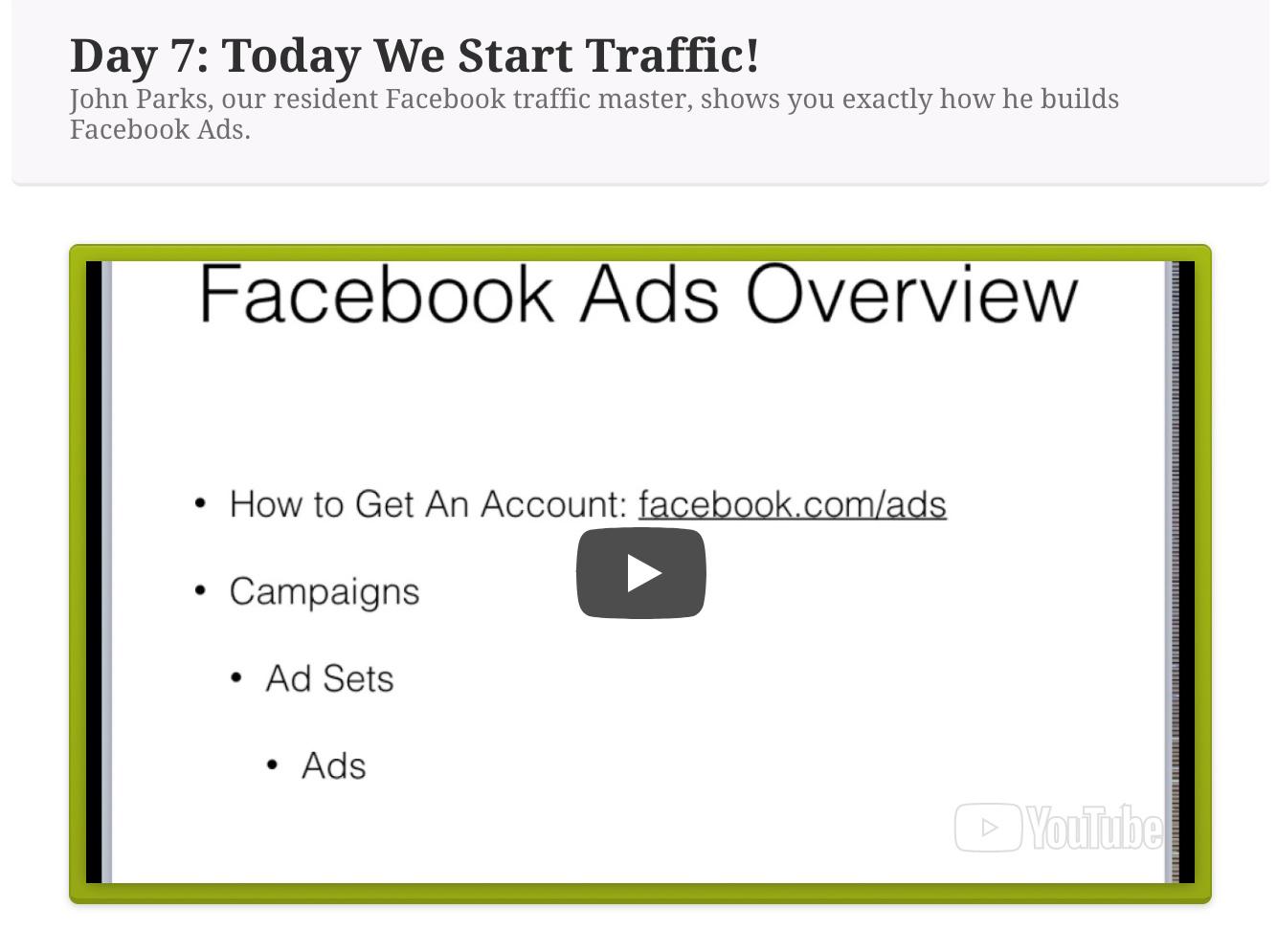 affiliate bootcamp facebook