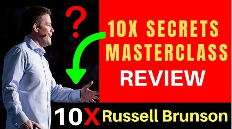 10x Secrets Masterclass Review