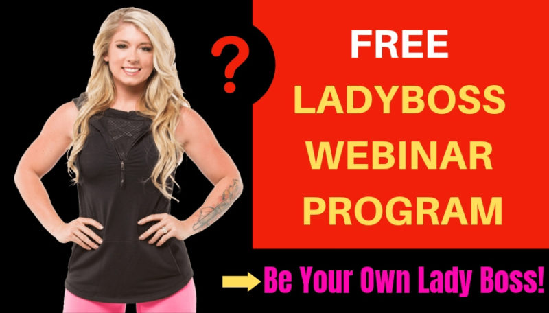 Lady Boss Webinar