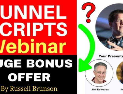 Funnel Scripts Webinar Training (+Bonus Offer) By Russell Brunson