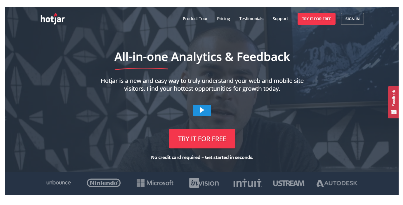 HotJar All-In-One Analytics