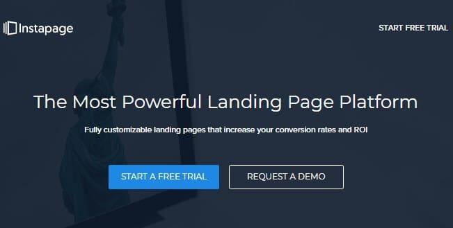 Instapage Landing Page