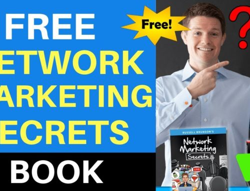 FREE Network Marketing Secrets Book 2019 | By Russell Brunson