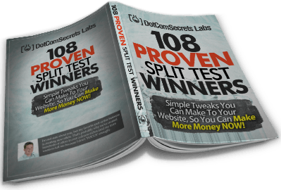 108 Proven Split Test Winners book