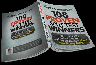 108 Proven Split Test Winners book