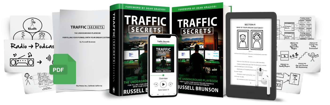 Traffic Secrets Audiobook